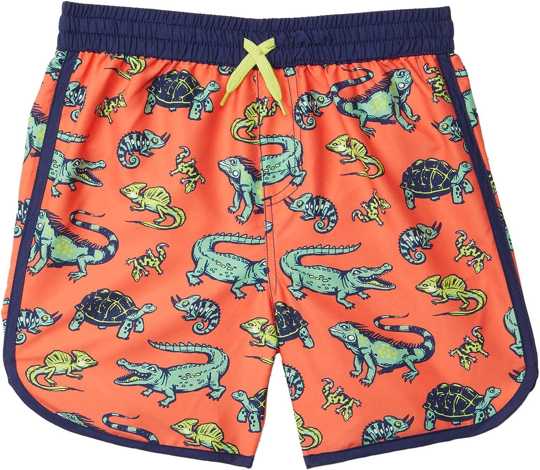 Hatley Boy's Aquatic Reptiles Swim Shorts (Toddler/Little Kids/Big Kids)