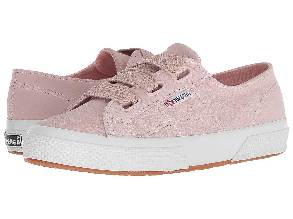 Superga 2750 Suew Biglace (Pink Suede) Women