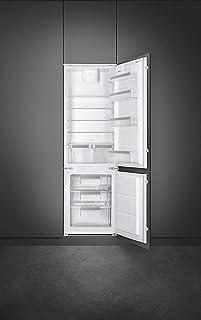 SMEG Built In Bottom Freezer Refrigerator Combined Fridge & Freezer Energy Efficiency Class A+, 272 L, C7172FP1-1 Year War...