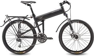 Montague Paratrooper Folding Bikes-Speed Light Trail Bike with Suspension Bike Folding Mountain Bikes for Adults, Lightweight Folding Bike, Folding Bike- All New Model