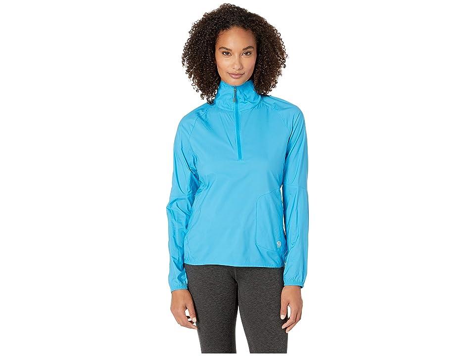 Mountain Hardwear Kor Preshelltm Pullover (Electric Sky) Women