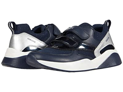 Geox Kids Sinead 8 (Little Kid/Big Kid) (Navy) Girl