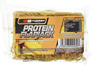 Vyomax Nutrition Banoffee Protein Flapjack 100 g – Pack de 12 Estimated Price : £ 22,48