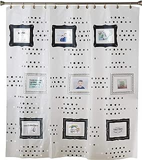 SKL Home by Saturday Knight Ltd. Pocketz Shower Curtain, Black