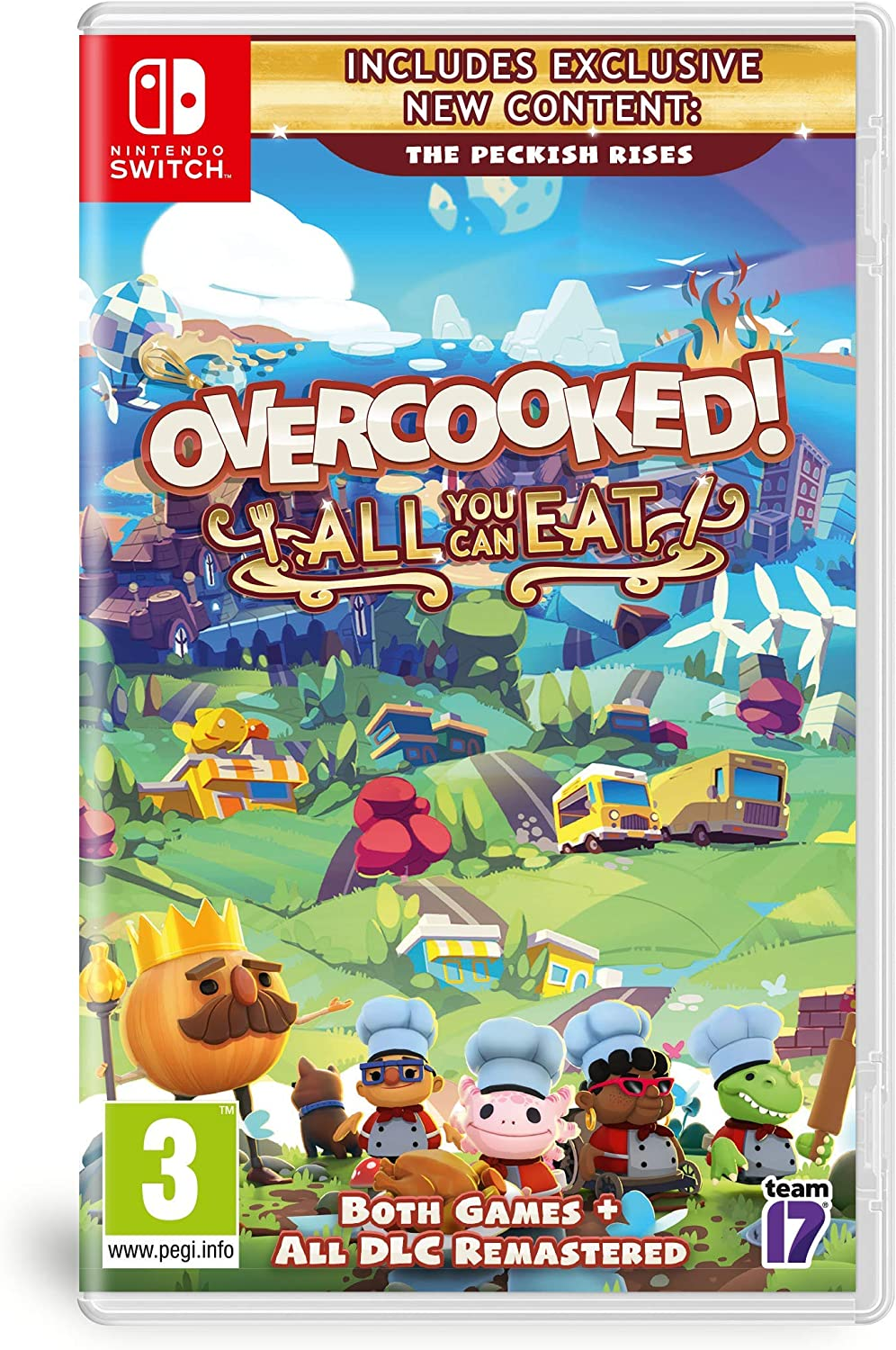 Nsw Overcooked: All You Can Eat