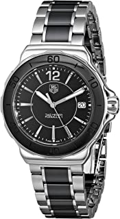 Women's 'Formula 1' Black Dial Ceramic Quartz Watch WAH1210.BA0859