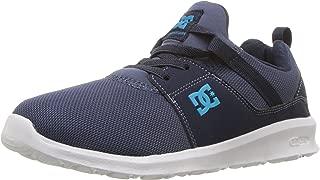DC Boys' Heathrow Skate Shoe, Blue, 7 M US Big Kid