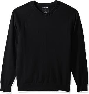 Skechers Golf Men's Fairway Long Sleeve V Neck Cottom Cashmere Sweater Vest