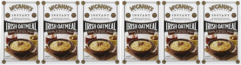 McCanns Instant Irish Oatmeal Maple Brown 10 Set 3 Inexpensive pk ct Direct sale of manufacturer Sugar
