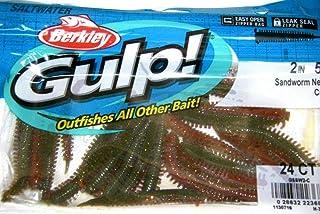 """Best (GIGA-MARKET) Berkley Gulp! Saltwater Fishing Lure 2"""" Sandworm GSSW2-C Camo Review"""