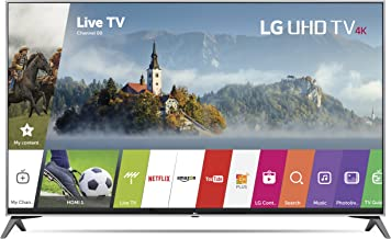 LG Electronics 65UJ7700 65-Inch 4K Ultra HD Smart LED TV (2017 Model) (Certified Refurbished)