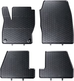 Turnier Automatten Ziernaht Weiß Velours ab 2014 NEU Fußmatten Ford Mondeo MK5