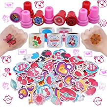 JOYIN 1000+ Valentine Day Hearts Arts and Crafts Party Favor Supplies Accessories (Stickers, Tattoos, Stampers) for Valent...