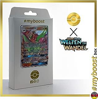 Libelldra-GX (Flygon-GX) 110/236 - #myboost X Sonne & Mond 12 Welten im Wandel - Box of 10 Pokemon Deutsche Cards