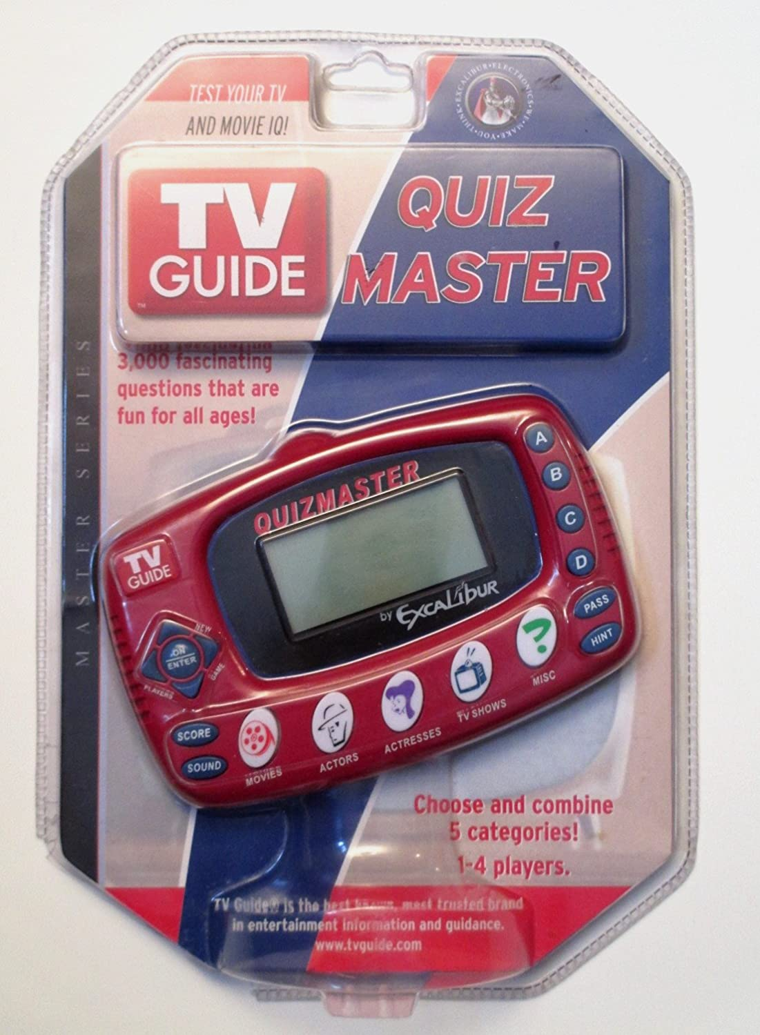 EXCALIBUR High quality new ELECTRONIC TV Guide Quiz Easy-to-use Electronic Master TV20 Game