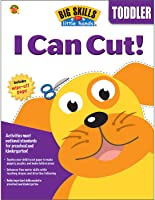 Carson Dellosa | Big Skills for Little Hands: I Can Cut! Activity Book | Ages 3+, Printable