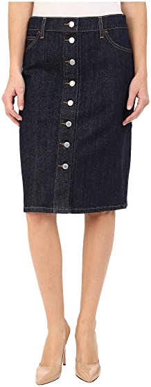 Skirts, Denim | Shipped Free at Zappos