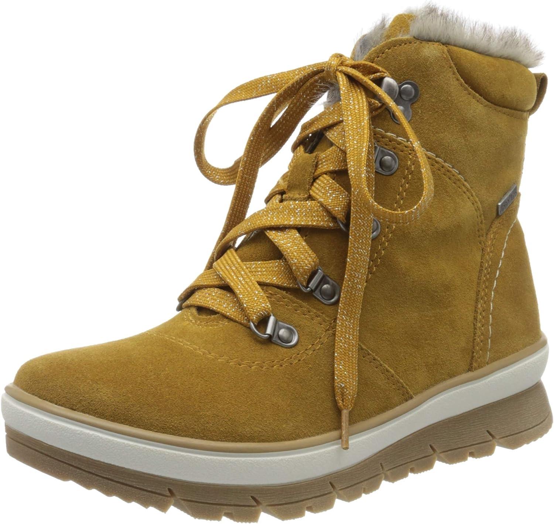 Jana 100% price comfort Women's Atlanta Mall 8-8-26230-23 Ankle Yellow Saff Boots