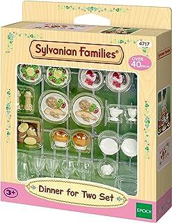 Sylvanian Families - Le Village - Le Set de Diner Pour deux - 4717 - Meubles et Accessoires Poupée - Mini Poupées