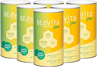 BEAVITA Vitalkost Plus – Lemon Yoghurt 6X 572g Powder- Diet Shake for Carefree Weight Loss – Makes 10 Shakes – Save Calories Reduce Weight – Vitamin-Rich Meal Replacement Shake with Diet Plan Estimated Price : £ 79,99