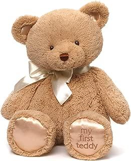 Baby GUND My First Teddy Bear Stuffed Animal Plush, Tan, 18