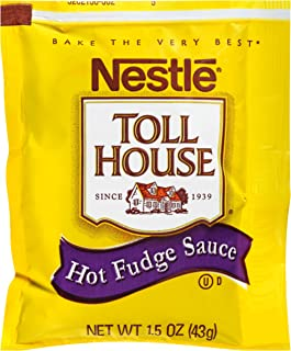 Nestle Hot Fudge Sauce Single Serve (1.5 oz. Packets, Pack of 100)