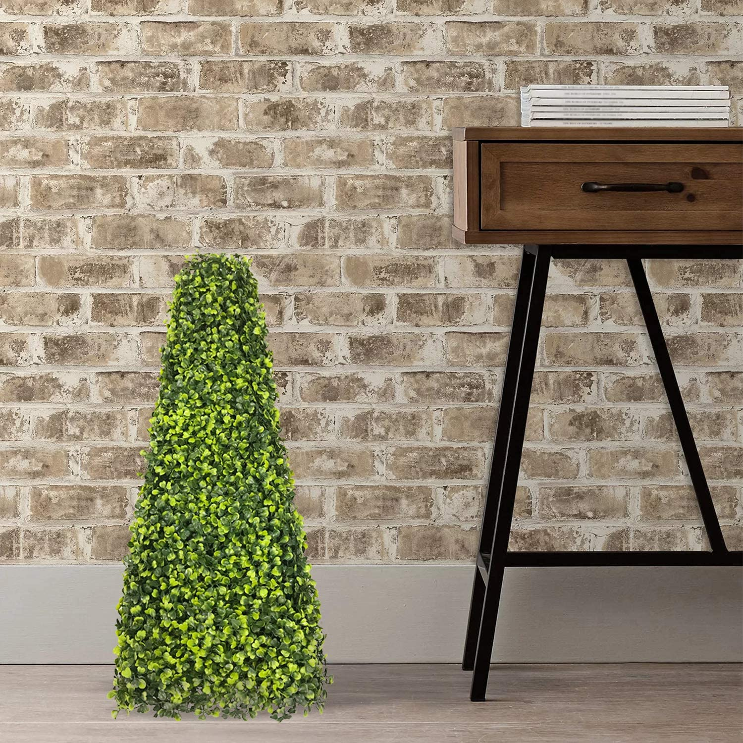 FLORALEAF 情熱セール Topiary Trees Artificial ご予約品 Outdoor Spiral Tree T Boxwood
