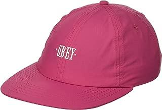 Obey Men's Maxin' 6 Panel Snapback Hat