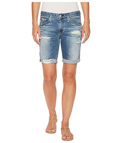 AG Adriano Goldschmied Nikki Shorts in 16 Years Indigo Deluge Destructed (16 Years Indigo Deluge Destructed) Women