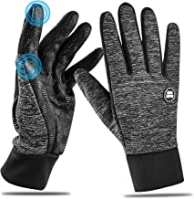 Mroobest Gant /écran Tactile Cycling Gloves pour ext/érieur compatibles Gants dhiver imperm/éable imperm/éable Antid/érapants Coupe-Vent pour Homme et Femme Gants Chauds dhiver Warm Gloves