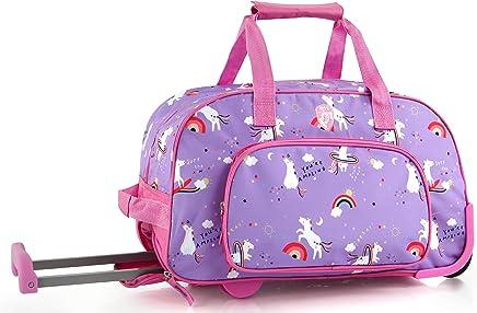 a01006c6daac Heys Kids 18 Inch Rolling Duffel Bag Shoulder Bag - Unicorn
