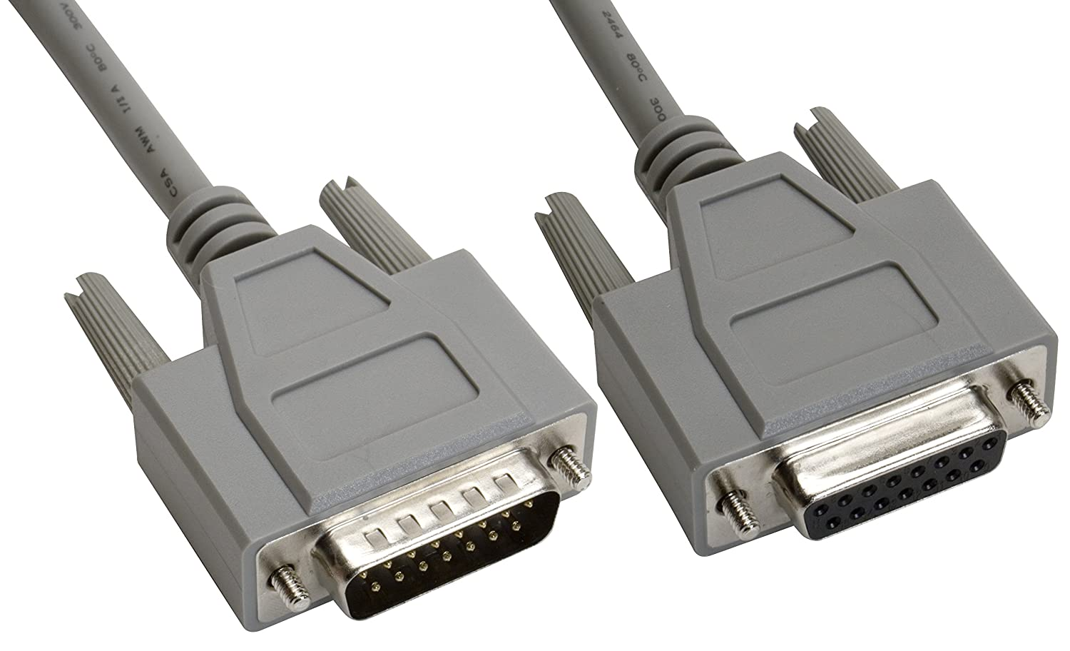 Animer and price revision Regular dealer Amphenol CS-DSDMDB15MF-002.5 15-Pin DB15 Shi Deluxe D-Sub Cable