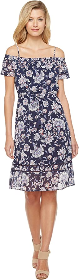 Lucky Brand Cold Shoulder Dress