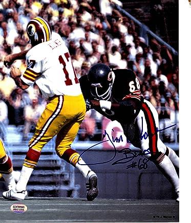 9e26fb5bba6 Jim Osborne Chicago Bears Autographed 8x10 Football Photo
