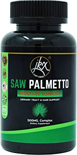 Saw Palmetto Supplement for Prostate Health | Extract & Berry Powder Complex | Supports Urinary Tract Function | Prevents Hair Loss and May Block The DHT, Non-GMO, 500mg | 100 Capsules.