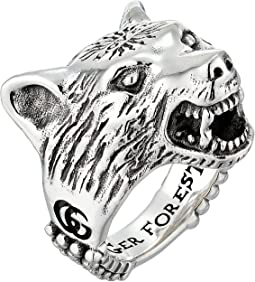 Anger Forest Wolf Ring