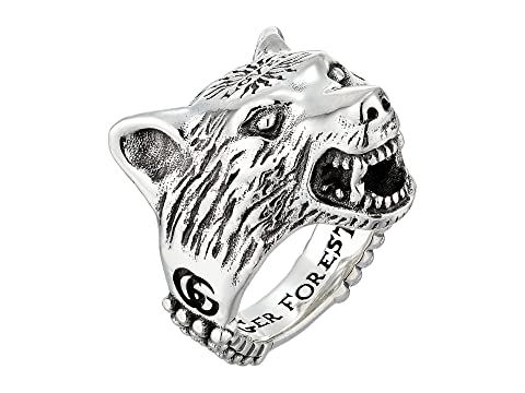Gucci Anger Forest Wolf Ring