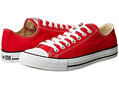 Converse Chuck Taylor(r) All Star(r) Core Ox (Red) Classic Shoes