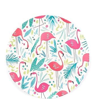 Set of 2 Cambridge CM06345 Flamingo Reusable Serving Utensils