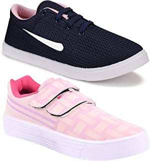 TYING Women's (5043-9031) Multicolor Casual Sneakers Loafers Shoes