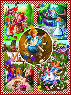 Classic Tales: Alice in Wonderland 1000 pc Jigsaw Puzzle by SunsOut