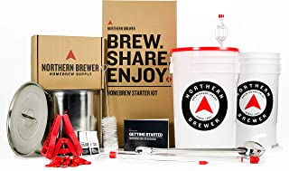 Northern Brewer - Brew. Share. Enjoy. HomeBrewing Starter Set, Equipment and Recipe for 5 Gallon Batches (Chinook IPA)