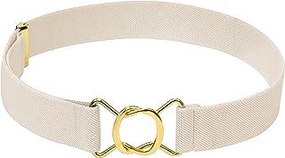 Hold'Em Kids Toddler Clasp Gold Buckle Belt-Elastic Adjustable Stretch Boys Belt