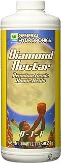 General Hydroponics GH1352 Diamond Nectar 0-1-1 Premium Grade Humic Acid for Soil, Soilless Mixes, Coco & Hydroponics, 1 Quart