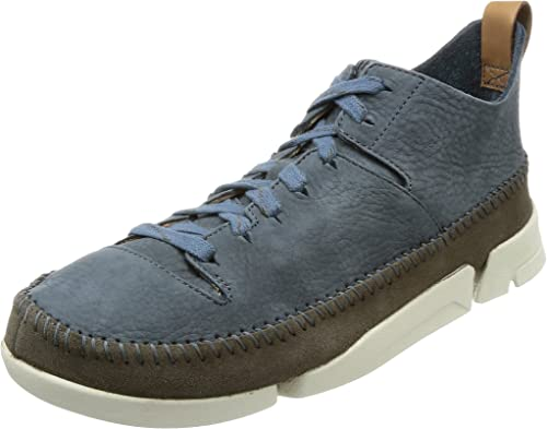Clarks Originals Mens Trigenic Flex Nubuck Trainers