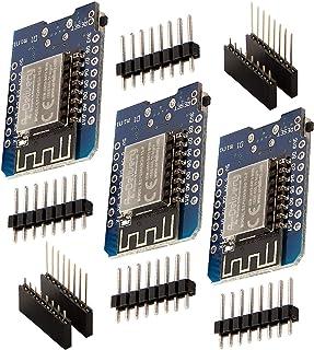 AZDelivery 3 x D1 Mini NodeMcu met ESP8266-12F WLAN-Module CH340G Lua compatibel met Arduino Inclusief E-Book!