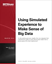 Using Simulated Experience to Make Sense of Big Data -- Journal Article
