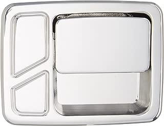 All Sales 512 Polished Billet Aluminum Rear Door Handle and Bucket Kit