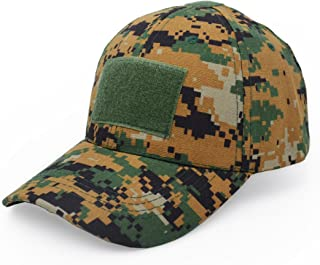 Military Tactical Operator Cap, Outdoor Army Hat Hunting Camouflage Baseball Cap