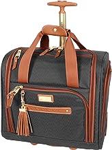 Steve Madden Luggage Wheeled Suitcase Under Seat Bag (Black)